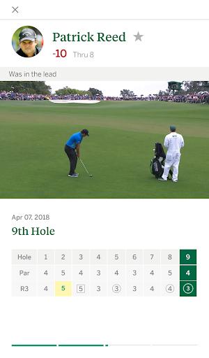 The Masters Golf Tournament screenshot 3