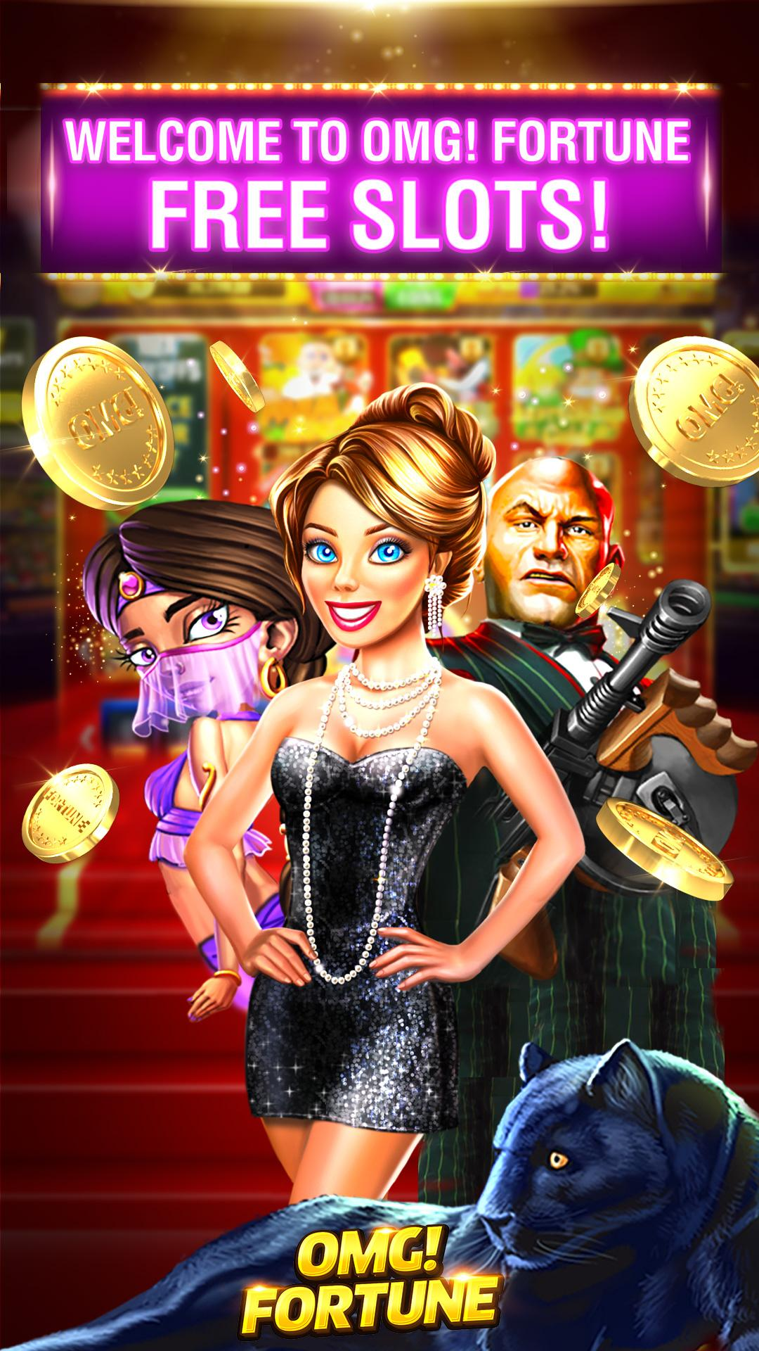 OMG! Fortune Free Slots Casino screenshot #1