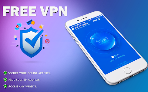 Free VPN Proxy: Secure Shield & Fast Hotspot  App Download For Android 1
