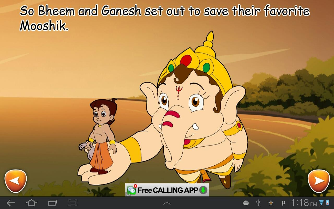 BheemandGaneshaActionComic- screenshot