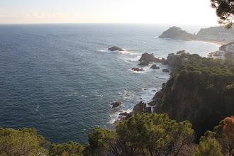 Photo: Avant Lloret, le point de vue à Tossa de Mar ...