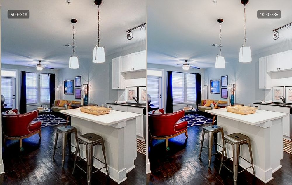 Improve real estate photos on your marketplace with specialized preset