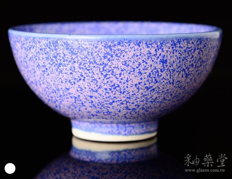 鈷紫藍斑釉藥-TD-05-glaze-porcelain-clay