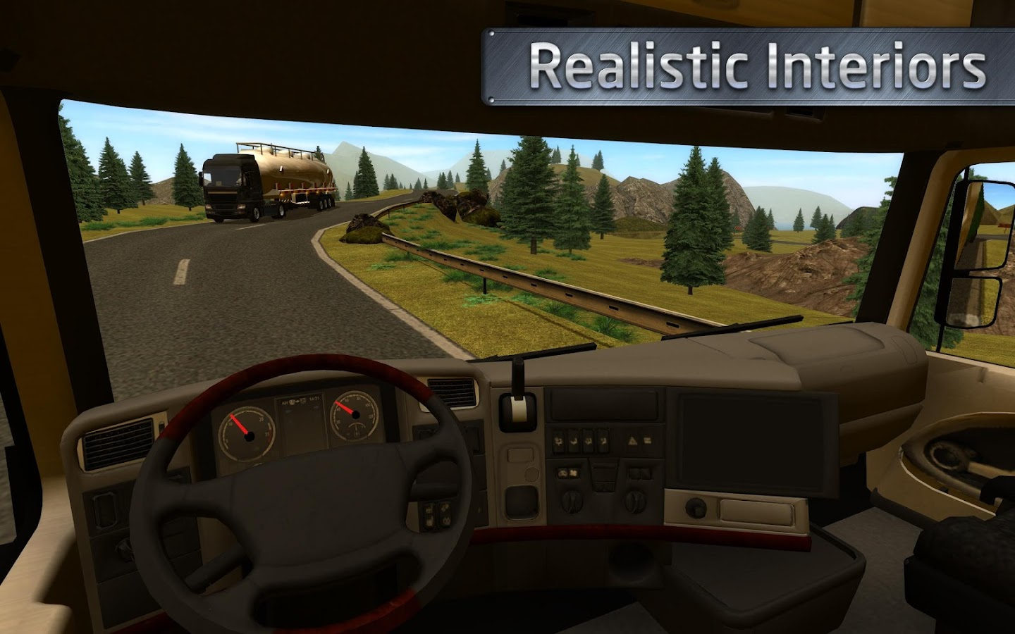 Euro Truck Driver Simulator Android Apps On Google Play - Video of car driving across us map