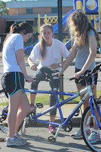 Photo: Cape Fear Academy students prepping bikes