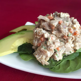 Southwestern Yellowfin Tuna Salad.