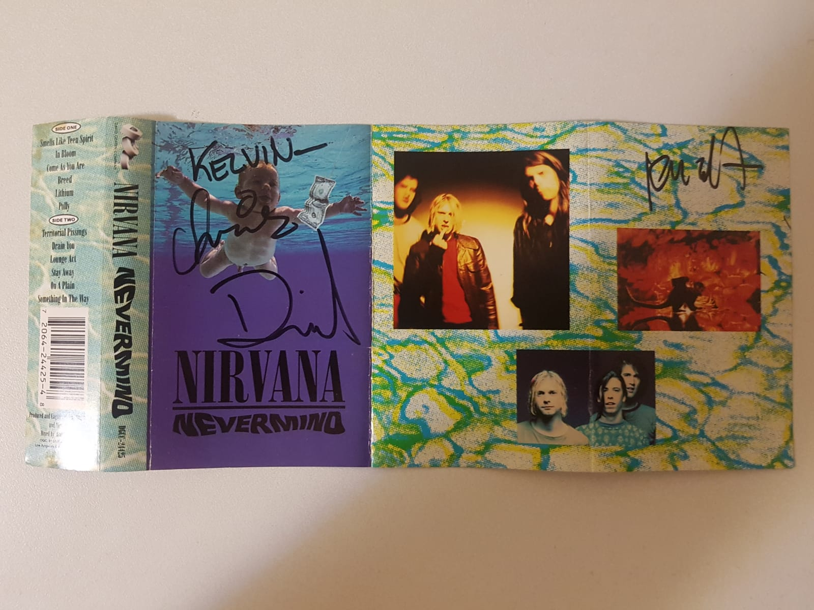 Nirvana Signed Casette