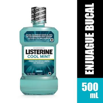 Enjuague Bucal Listerine   Cool Mint X500ML
