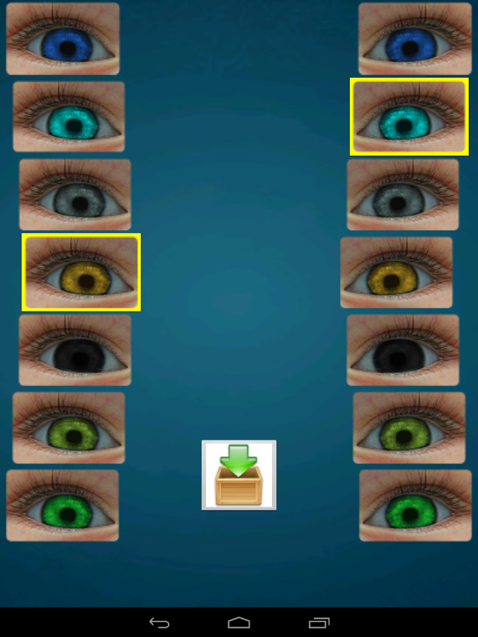 Is new predictor of newborn baby eyes color include 7 shades of color