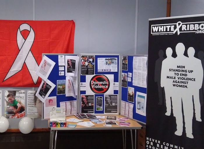 Display will promote domestic violence support services