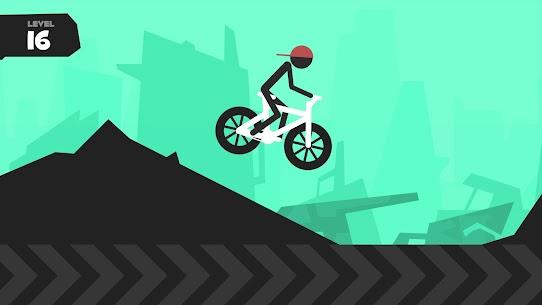 Wheelie Stickman Rider 1