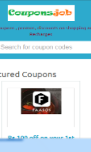 Coupons on Shopping - Recharge screenshot 2