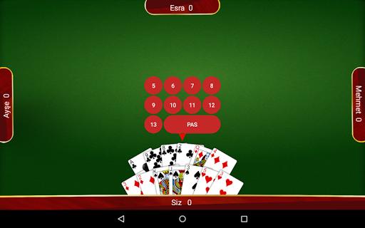 Batak - Tekli, Eu015fli u0130nternetsiz Batak apkpoly screenshots 17