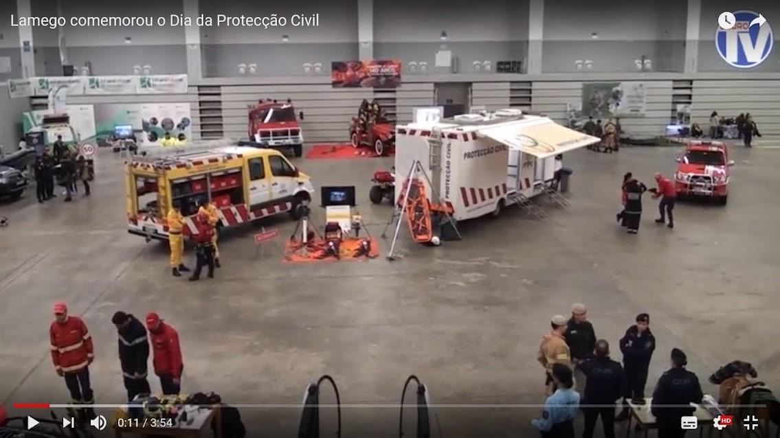 Vídeo - Lamego comemorou o Dia da Protecção Civil