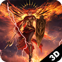 Fire Angel 3D Live Wallpaper icon