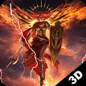 Fire Angel 3D Live Wallpaper