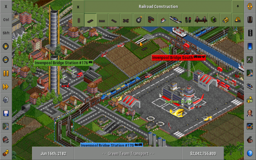 OpenTTD screenshots 1