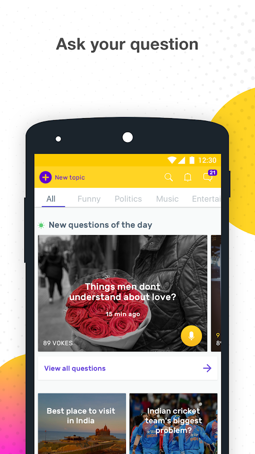 Vokal - Share Knowledge with Indians in your Voice- screenshot