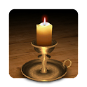 3D Melting Candle icon