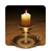 3D Melting Candle Live Wallpaper