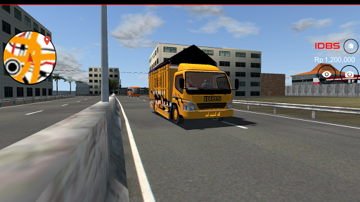 IDBS Indonesia Truck Simulator  screenshots 2