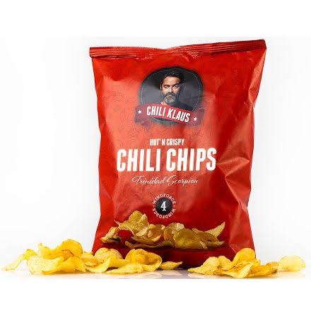 Chilichips vindstyrke 4 – Trinidad Scorpion Moruga – Chili Klaus