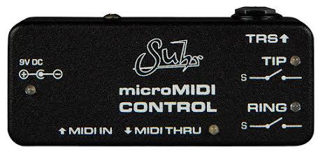 Suhr microMIDI Control