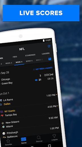 theScore: Live Sports News, Scores, Stats & Videos 6.5.2 screenshots 3