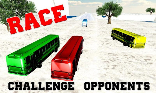 Extreme Hill Bus Race Driver