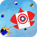 Superhero Kite Flying: Pipa Basant Combat 3D icon
