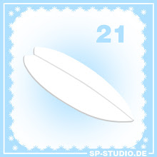 Photo: Day 21 of the www.sp-studio.de Christmas Special: A surfboard.