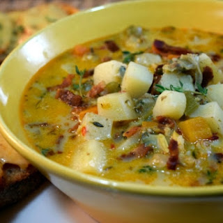 Coconut Clam Chowder (DF & GF)