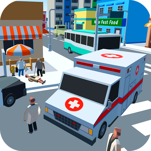 Ambulance Driver Extreme city rescue