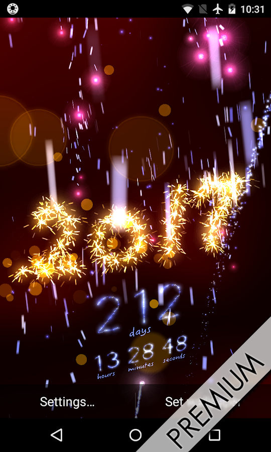 silvester 2017 countdown