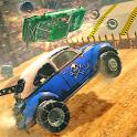 Crazy Car Racing Destruction Mania icon