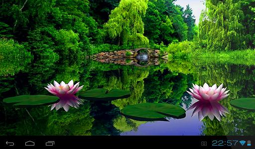 Beautiful Garden LiveWallpaper