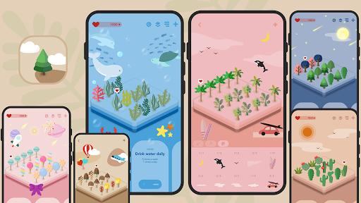 Habit Forest - Habit tracker, Plans, Goal tracker screenshots 1