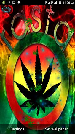 Rasta Weed Live Wallpaper 15 Screenshot 922577