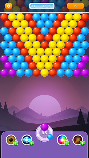 Bubble Rainbow Shooter - Shoot & Pop Puzzle modavailable screenshots 2