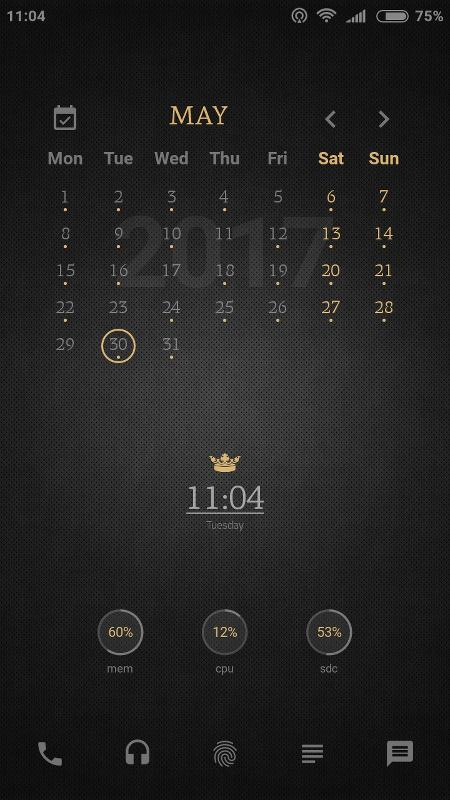 Tiny Crown for KLWP- screenshot