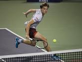 Geen Masters voor David Goffin na verlies in derde ronde Parijs-Bercy tegen Cilic