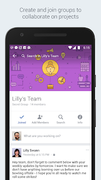 Workplace by Facebook - screenshot