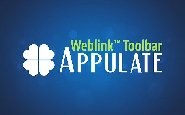 Appulate Weblink Toolbar