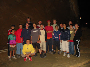 Photo: 2005 Pioniri  U Špilji Na izletu u Lokvama 26.6.2005.