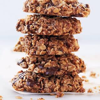 Gluten Free Pecan, Oat, and Dark Chocolate-Chunk Cookies.
