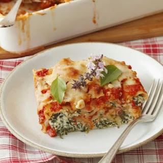 Vegetarian Stuffed Pasta Bake