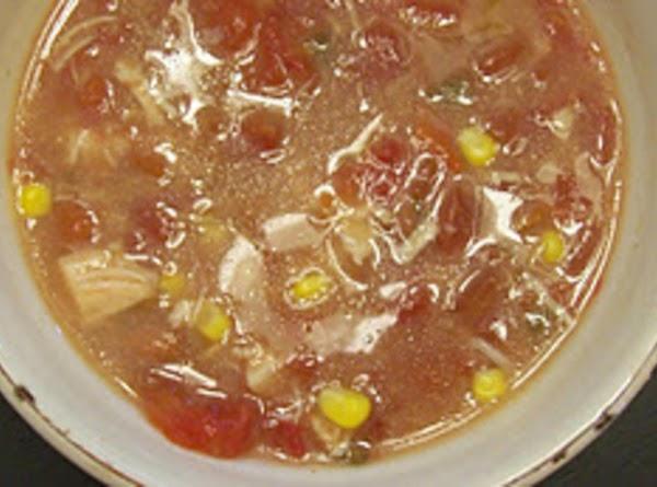 Hope's Creamy Chicken Tortilla Soup Recipe