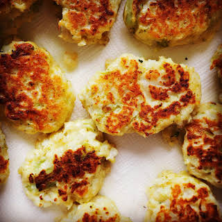 Broccoli & Cauliflower Fritters.