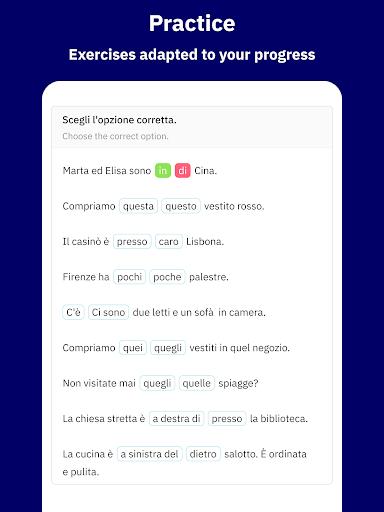 Learn Italian with Wlingua screenshot 9