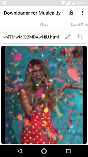 Downloader for Musical.ly 2.3 screenshots 5